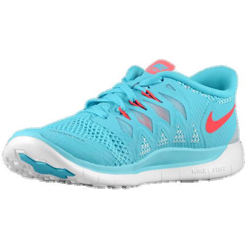 Filles Nike Free 5.0 Bleu