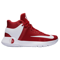 nike kd trey 5 iv mens kevin durant red white - Kevin Durant Shoes Coloring Pages