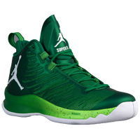 Jordan Super.Fly 5 - Men's - Light Green / White