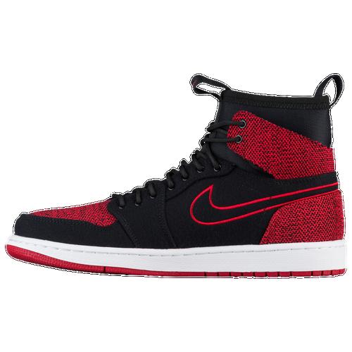 Jordan Retro 1 Ultra High - Men's Basketball - Black/Gym Red/White/Infrared 23 44700001