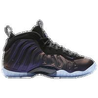 Nike Little Posite One - Boys\u0027 Grade School - Black / Purple