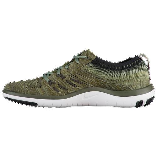 Nike Free TR Focus Flyknit Women's Cargo Khaki/Black/Palm Green 44817303