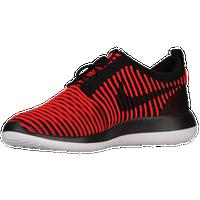 Nike Roshe Two Flyknit - Men's Casual - Dark Grey/Gamma Blue/Volt/Black 44833004