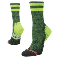 Stance Distance Run Crew - Women's - Green / Black