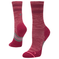 Stance Uncommon Solid Run Crew - Women's - Red / Pink