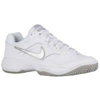 Nike Court Lite - Women's - White / Silver