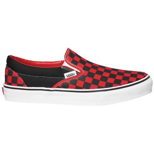 vans black and red