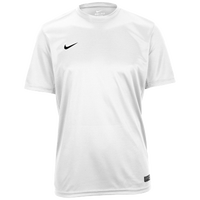 Nike Team Tiempo II Jersey - Men's - All White / White