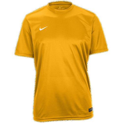 Nike Team Tiempo II Jersey - Men's - Soccer - Clothing - University Gold/ White