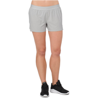 "ASICS® 3.5"" Woven Shorts - Women's - Grey / Grey"