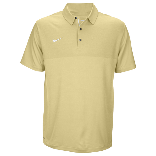 Nike Team Sideline Dry Elite Polo - Men's Baseball - Team Gold/White 45830783