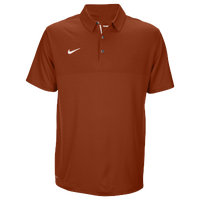 Nike Team Sideline Dry Elite Polo - Men's - Orange / Orange