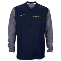 Nike Team Sideline Coach 1/2 Zip Top - Men's - Navy / Yellow