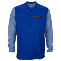 Nike Team Sideline Coach 1/2 Zip Top - Men's - Blue / Red