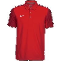Nike Team Sideline Polo - Men's Baseball - University Red/White 45898657