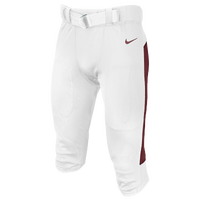 Nike Team Vapor Pro Pants - Men's - White / Cardinal