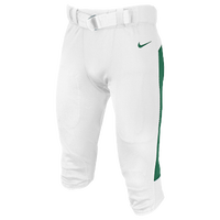 Nike Team Vapor Pro Pants - Men's - White / Dark Green
