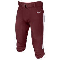 Nike Team Vapor Pro Pants - Men's - Cardinal / White