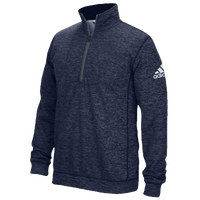 adidas Team Issue 1/4 Zip - Men's - Navy / Grey