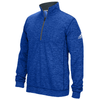 adidas Team Issue 1/4 Zip - Men's - Blue / Grey