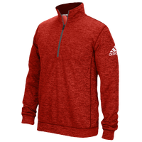 adidas Team Issue 1/4 Zip - Men's - Red / Grey