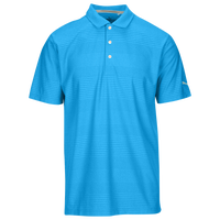 PUMA Pounce Aston Golf Polo - Men's - Light Blue / Light Blue