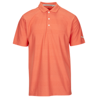 PUMA Pounce Aston Golf Polo - Men's - Orange / Orange