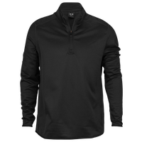 Oakley Range 1/4 Zip Pullover - Men's - All Black / Black