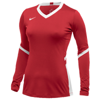Nike Team Hyperace Long Sleeve Game Jersey - Women's - Red / White