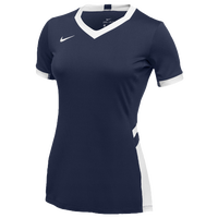 Nike Team Hyperace Short Sleeve Game Jersey - Women's - Navy / White