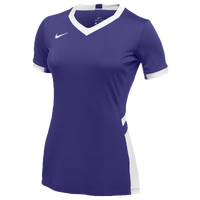 Nike Team Hyperace Short Sleeve Game Jersey - Women's - Purple / White
