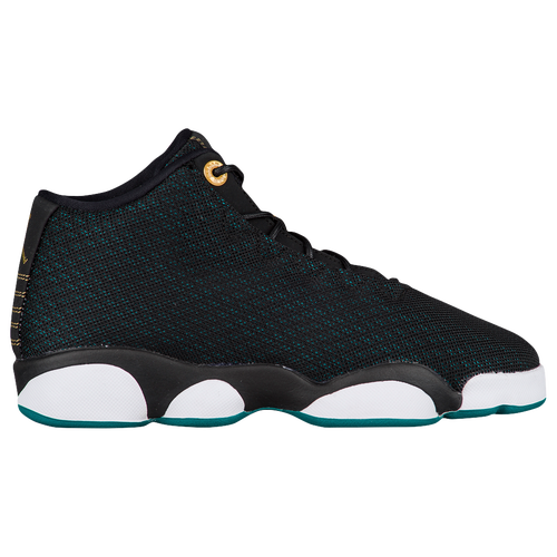 the latest 491ee bb0bc Jordan Horizon Low Girls Grade School Basketball Shoes Black Metallic Gold  Rio Teal White outlet
