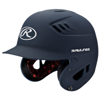 Rawlings Coolflo R16 Junior Batting Helmet - Men's - Navy / White