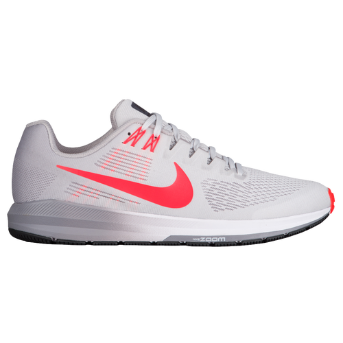 Nike Air Zoom Structure 21 - Mens - Running - Shoes - Vast GreyBright  CrimsonAtmosphere Grey