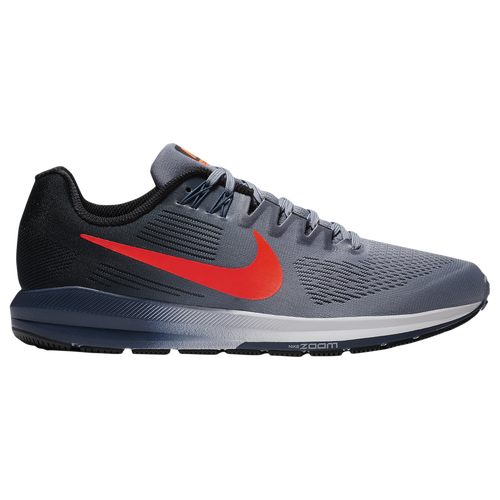 Nike Air Zoom Structure 21 - Men's - Running - Shoes - Dark Sky Blue/Total  Crimson/Black/Navy/Wolf Grey