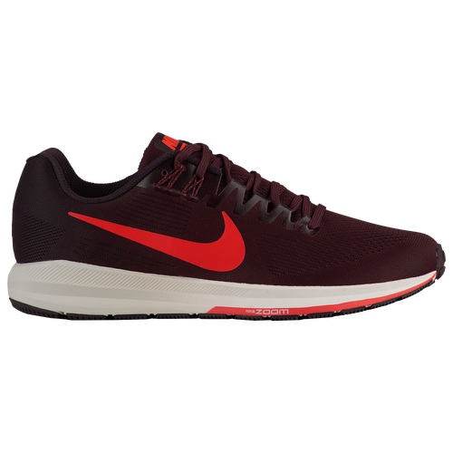 Nike Air Zoom Structure 21 - Mens - Running - Shoes - Burgundy AshBright  CrimsonBurgundy Crush