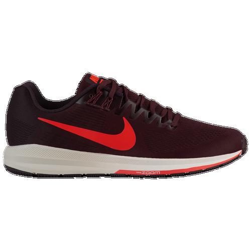 Nike Air Zoom Structure 21 - Mens - Running - Shoes - Burgundy AshBright  CrimsonBurgundy Crush