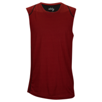 Ably Tracker Sleeveless T-shirt - Men's - Maroon / Black