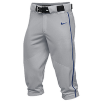 Nike Team Vapor Pro Piped High Pants - Men's - Grey / Blue