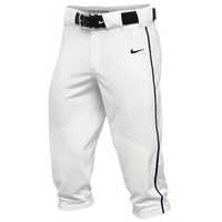 Nike Team Vapor Pro Piped High Pants - Men's - White / Navy