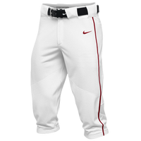 Nike Team Vapor Pro Piped High Pants - Men's - White / Red