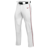 Nike Team Vapor Pro Pant Piped - Men's - White / Red