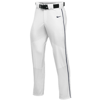 Nike Team Vapor Pro Pant Piped - Boys' Grade School - White / Navy