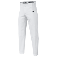 Nike Youth Vapor Baseball Pants - Boys' Grade School - White / White