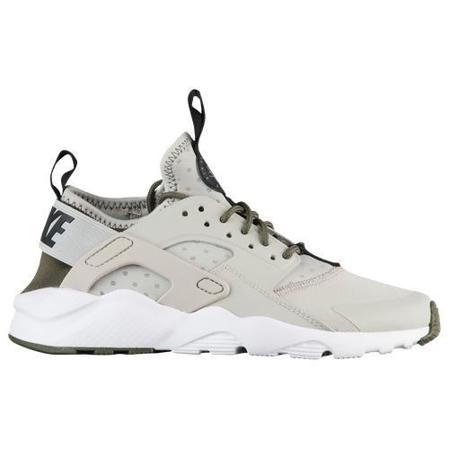 c654ecf44704f sale nike huarache run ultra boys grade school casual shoes pale grey black  cargo khaki cool