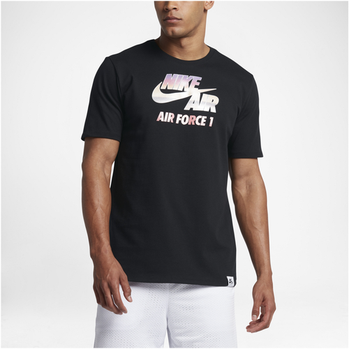 Nike Heavyweight AF1 Chrome T-Shirt - Men's Casual - Black 47593010