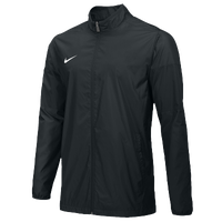 Nike Team FB Woven Jacket - Men's - All Black / Black