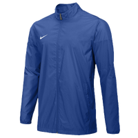 Nike Team FB Woven Jacket - Men's - Blue / Blue