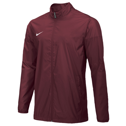 Nike Team FB Woven Jacket - Men's For All Sports - Team Maroon/White 47986610