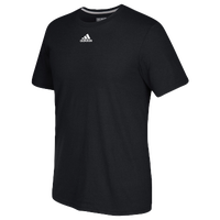 adidas Team Go To Performance T-Shirt - Men's - All Black / Black